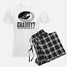 Gravity? Rock Climber Pajamas