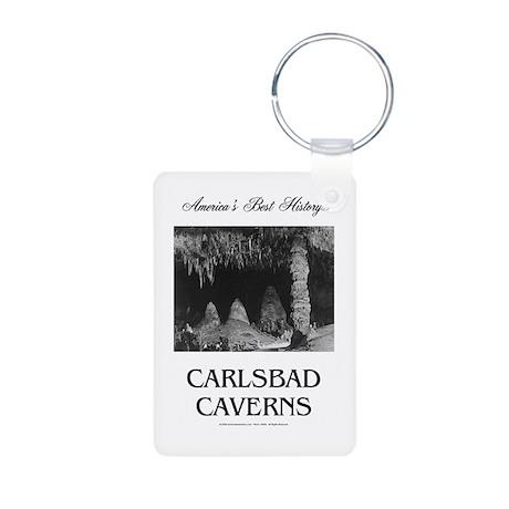 Carlsbad Caverns Americasb Aluminum Photo Keychain