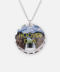 ABH Hoover Dam Necklace Circle Charm
