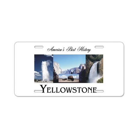 Yellowstone Americasbesthis Aluminum License Plate