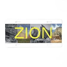 ABH Zion Aluminum License Plate