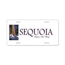 ABH Sequoia Aluminum License Plate