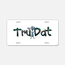 Tru Dat Aluminum License Plate