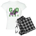 Go Kart Adult Women's Light Pajamas