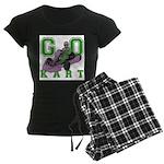 Go Kart Adult Women's Dark Pajamas