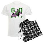 Go Kart Adult Men's Light Pajamas