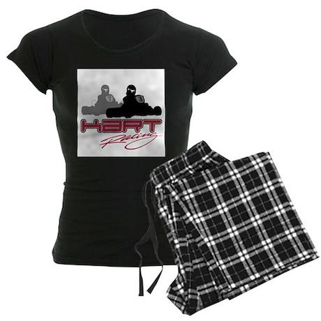 Kart Racing Women's Dark Pajamas