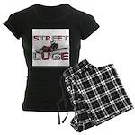 Street Luge Racer Women's Dark Pajamas