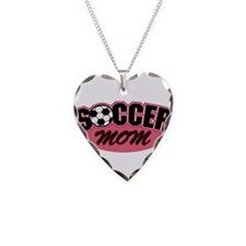 Pink Soccer Mom Design Necklace