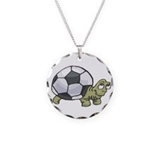 Soccerball Turtle Necklace