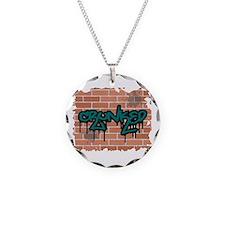 "Graffiti Style ""Crunked"" Desi Necklace"