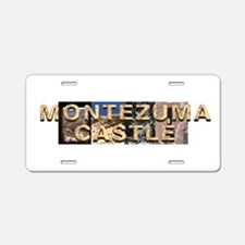 ABH Montezuma Castle Aluminum License Plate
