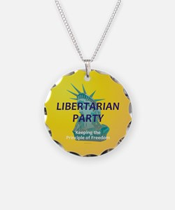 Libertarian Party Necklace