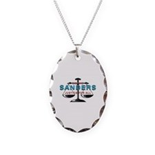 Herman Cain for President Necklace Oval Charm