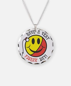 Have a Very Fishin' Day Smile Necklace