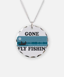 Gone Fly Fishin' Necklace