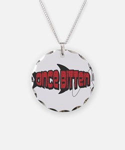 Once Bitten Fishing Design Necklace