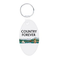 Country Forever Keychains