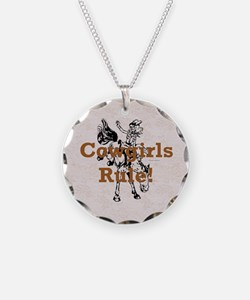 Cowgirls Rule Necklace