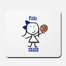 Basketball: Fidds Mousepad