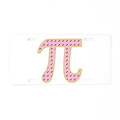 Cherry Pi (Pie) Aluminum License Plate