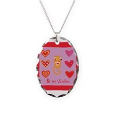 Cute Kitty Cat Valentine Necklace