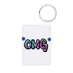 OMG (Oh My God) Keychains