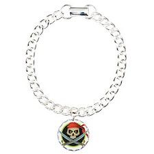 Pirate Skull and Swords Bracelet