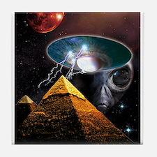 Ancient Aliens Tile Coaster