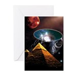 Ancient Aliens Greeting Cards (Pk of 20)