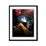 Ancient Aliens Framed Panel Print