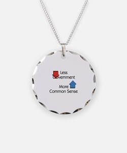 Less Government Necklace