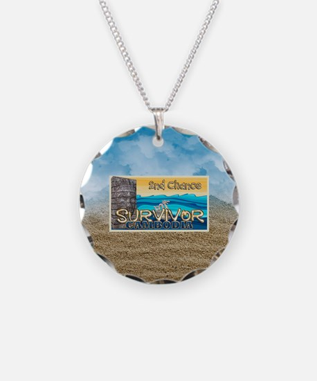 Survivor Cambodia Necklace Circle Charm