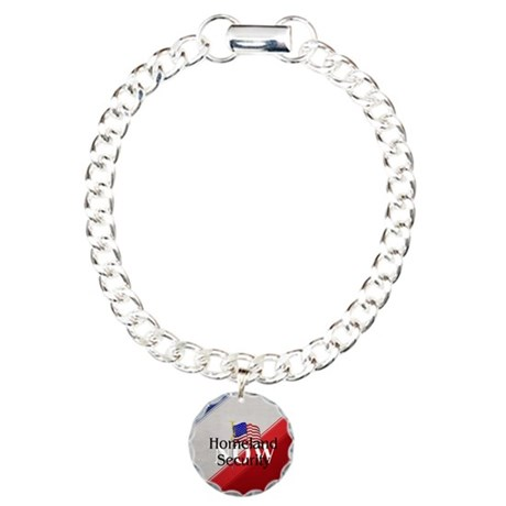 Homeland Security Now Charm Bracelet, One Charm