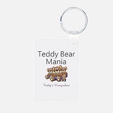 Teddy Bear Mania Keychains