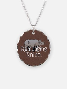 Rampaging Rhino Necklace