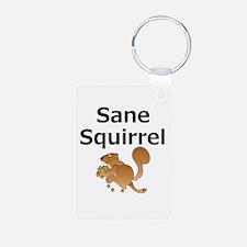 Sane Squirrel Keychains