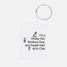 Workout Diva Keychains