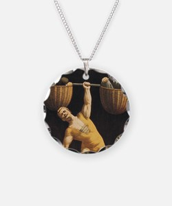 Weightlifting Old School Necklace