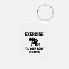 TOP Exercise Cross Train Keychains