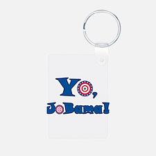 Yo! Jobama! Obama Keychains