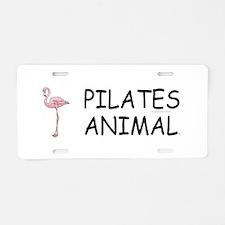 Pilates Animal Aluminum License Plate