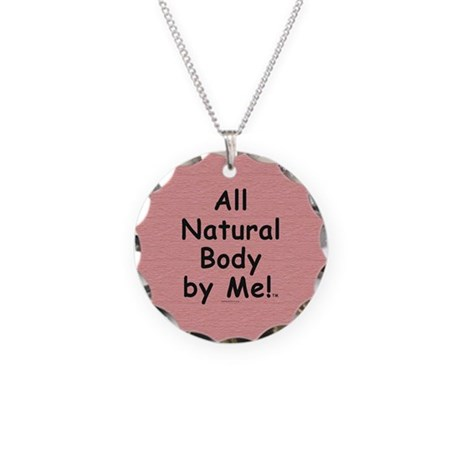 TOP All Natural Body Necklace Circle Charm