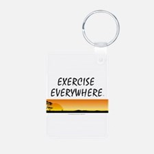 TOP Exercise Everywhere Keychains