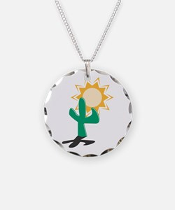 Cactus in the Sun Necklace