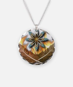 Native Feathers Necklace