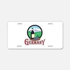 Vintage Germany Design Aluminum License Plate