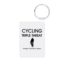 TOP Cycling Slogan Keychains