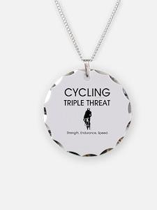 TOP Cycling Slogan Necklace