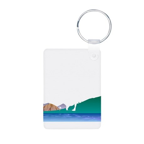 Golf Everywhere Aluminum Photo Keychain